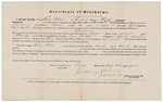 Certificate of Discharge - Porter, Charles by James Dunning