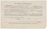 Certificate of Discharge - Hersey, Thomas