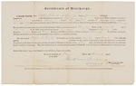 Certificate of Discharge - Gerrish, Stephen S.