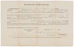 Certificate of Discharge - Gerrish, Stephen S. by James Dunning