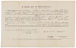 Certificate of Discharge - Shipley, Daniel C. by William Mills