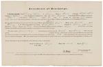 Certificate of Discharge - Shipley, Daniel C.