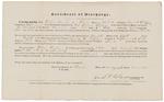 Certificate of Discharge - Ewins, John