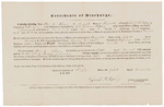 Certificate of Discharge - Howe, Asa C. by David R. Ripley