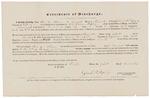 Certificate of Discharge - Howe, Asa C.