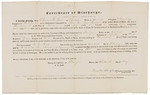 Certificate of Discharge - Rose, Elbridge G. by Traxton Dougherty