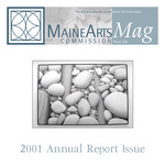 MaineArtsMag, Winter 2001