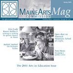 MaineArtsMag, Spring 2005