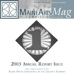 MaineArtsMag, Winter 2004