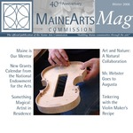 MaineArtsMag, Winter 2006
