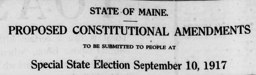 Penobscot County Suffrage Petitions