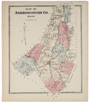 Map of Androscoggin County