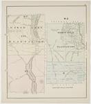 Eagle Lake (T16R7) & Westfield Plantations, T15R7 & Letter 'E' R2