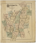 Map of Kennebec County; Kennebec County Atlas, page 5