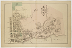 Map of part of the 2nd & 3rd Wards, City of Augusta by H. E. Halfpenny