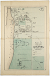 Map of part of the 5th Ward, City of Augusta by H. E. Halfpenny