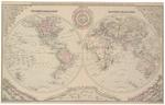 Hemispheric Map of the World