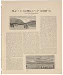 Maine Summer Resorts