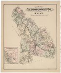 Androscoggin County & Livermore Falls (inset)
