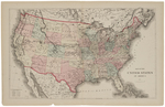Map of the United States of America, 1874