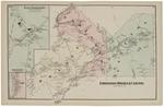 East Eddington (street map), East Eddington (insert), Holden, Eddington, Clifton