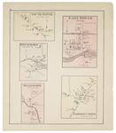 S. Dover, E. Dover, Dover, S. Mills, Wellington & Parkman Corner