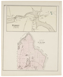 Perry Village & Lot plan of City of Calais