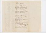 1837-06-16 Affadavit of James Sagurs, owner of Atticus by James Sagurs, Henry Sagurs, and Joseph Felt