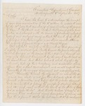 1837-09-07  Letter from Governor Schley to Governor Dunlap expressing anger at Dunlap's refusal to extradite