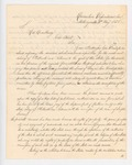 1838-05-02  Letter from Governor Gilmer to Governor Kent Demanding Extradition of Philbrook and Kellerun