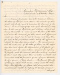 1841-10-04  Letter from Governor McDonald to Governor Kent Requesting Extradition of Philbrook and Kelleran