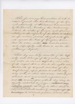 1841 [Draft] Report of the Judiciary Committee Upon the Controversy Between Georgia and Maine [Senate Doc 27, 21st Legislature]