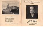 Maine State  Bar Association Dinner 1917