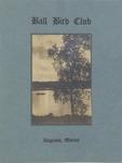 1926-27 Program of the Ball Bird Club