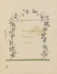 1930-31 Program of the Augusta Nature Club