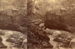 Stereopticon Photo of Mountain Brook, A.L. Hinds, Katahdin Series by David Field
