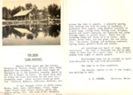 Photo of Camp Rhodora and A.F. Fowler Letter Offering It For Sale by David Field