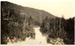 Sluice Below Ripogenus Dam by David Field