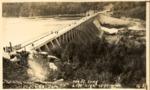 Ripogenus Dam, With Statistics by David Field
