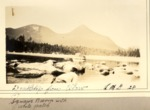 Doubletop Mt. from Elbow Pond. Squaw'S Bosom With White Patch. 1928 (L.M.G.) by David Field