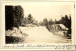 Second Falls Below Toll Dam on Sourdnahunk. 1928. (L.M.G.) by David Field