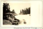 Niagara. First Falls Below Toll Dam. 1928. (L.M.G.) by David Field