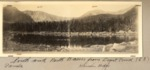 Pamola, South Basin, North Basin Hamlin Ridge Viewed from Depot Pond (Luther Rogers) by David Field