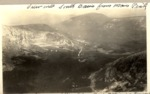 View Into South Basin from Main Peak. Traveller (Extreme Left), Chimney Pond, Basin Ponds, Turner, 1923 by David Field