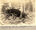 Camp Kennedy—Lean-To—South Basin (Luther Rogers). (Mansfield—Trip With L. Rogers in 1900) by David Field