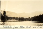 Katahdin from Elbow Pond, 1928 (L.M.G) by David Field