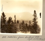 Mt Katahdin from Sentinal Mountain by David Field and Amy C. Witherle