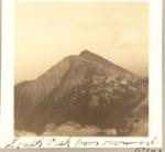 South Peak from Monument Peak, 1931 by David Field