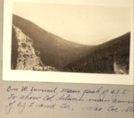 On West Summit, Main Peak of O.J.I. Level N 165 Degrees to Show Col Between Main Summit of O.J.I. and Coe; Also Coe Slide by David Field