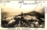 J. Frank Schairer on Mullen Mt. by David Field